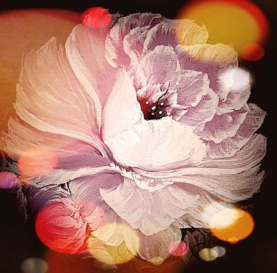 Fleetwood Mac - Gorgeous rose delicate pink stardust  by Angela Whitehouse