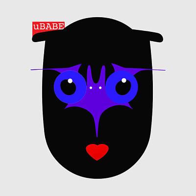 Digital Art - Got Bat Style by Ubabe Style