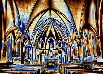 Photograph - Gothic Church In A Dream by Paul W Faust - Impressions of Light