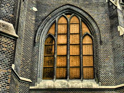 Jonny Jelinek Royalty-Free and Rights-Managed Images - Gothic Church Window by Jonny Jelinek