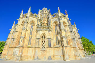 Photograph - Gothic Manastery Batalha by Benny Marty