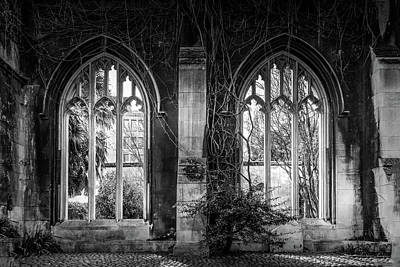 Photograph - Gothic Windows - London by Georgia Fowler
