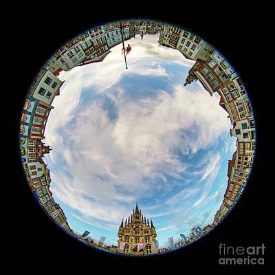 Photograph - Gouda-mandala-1 by Casper Cammeraat