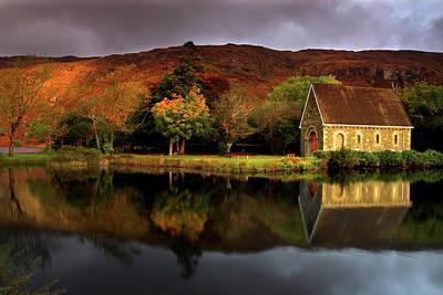 Reflection Photograph - Gougane Barra, Co.cork, Ireland by Sachin Polassery