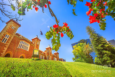 Photograph - Government House Garden Perth by Benny Marty