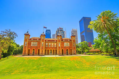 Photograph - Government House In Perth by Benny Marty