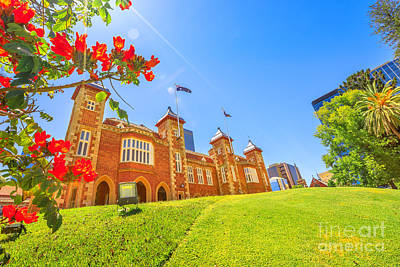Photograph - Government House Perth by Benny Marty