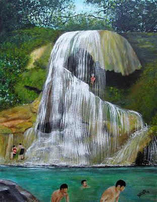 Painting - Gozalandia by Gloria E Barreto-Rodriguez