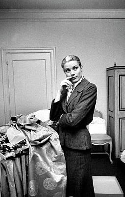 Photograph - Grace Kelly by Lisa Larsen