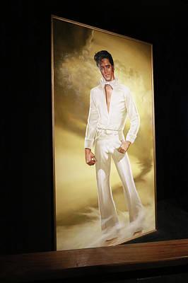 Photograph - Graceland - Elvis  by Allen Beatty