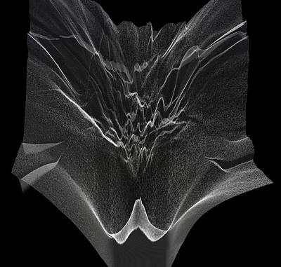 Digital Art - Gradient X-ray by Javier Ideami