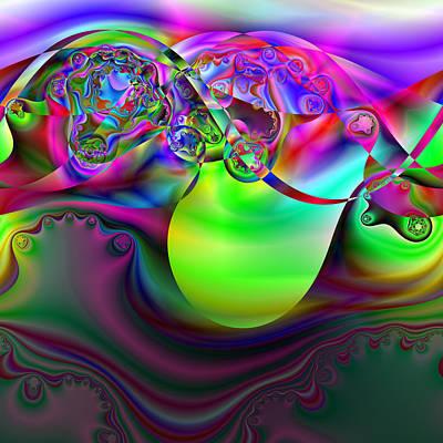 Digital Art - Gradivorce by Andrew Kotlinski
