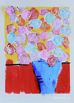 Painting - Graduation Bouquet by Kim Nelson