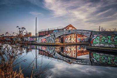 Photograph - Graffited Reflection by Chris Fletcher