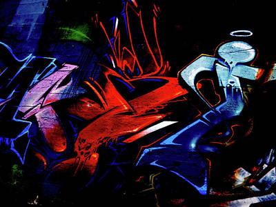 Photograph - Graffiti 02 by Jorg Becker