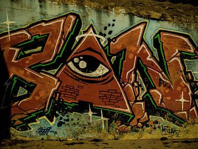 Photograph - Graffiti 03 by Jorg Becker