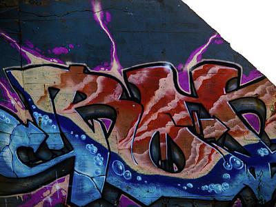 Photograph - Graffiti 04 by Jorg Becker