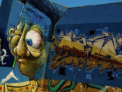 Photograph - Graffiti 06 by Jorg Becker