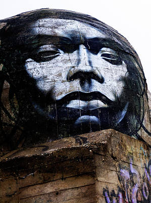 Photograph - Graffiti 07 by Jorg Becker