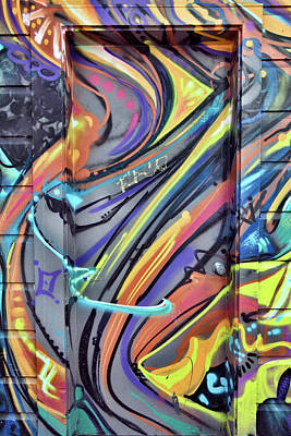 Photograph - Graffiti 1 by Leland D Howard