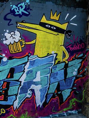 Photograph - Graffiti 10 by Jorg Becker