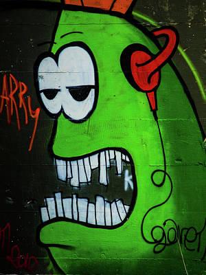 Photograph - Graffiti 13 by Jorg Becker