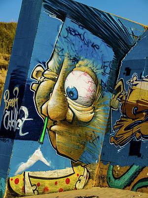 Photograph - Graffiti 14 by Jorg Becker