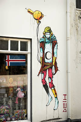 Photograph - Graffiti By Deih In Reykjavik by RicardMN Photography
