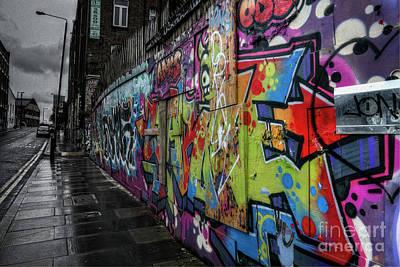 Digital Art - Graffiti by Nigel Bangert