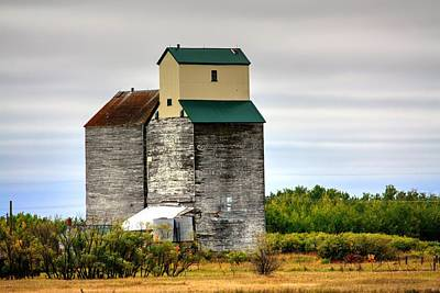 Photograph - Grain Drain by David Matthews