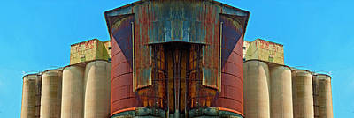 Photograph - Grain Mill - Mirrored 1 by Paul W Faust - Impressions of Light