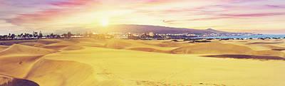 Digital Art - Gran Canaria Dunes by Tanel Murd