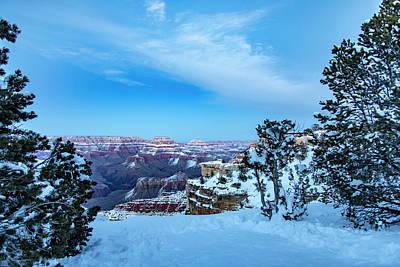 Grand Canyon Blue Hour Art Print