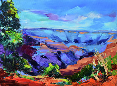 Painting - Grand Canyon Serenity by Elise Palmigiani