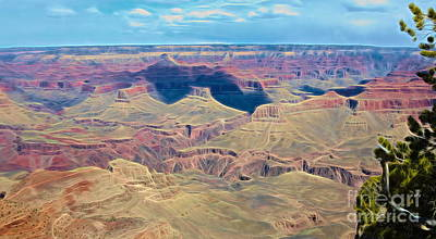 Photograph - Grand Canyon Mix  by Chuck Kuhn