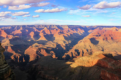 Photograph - Grand Canyon Near Sunset by Dawn Richards