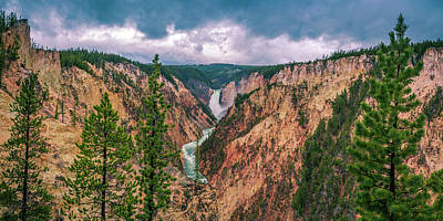 Photograph - Grand Canyon Of The Yellowstone by ProPeak Photography