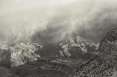 Photograph - Grand Canyon - Sepia 2 by Jonathan Nguyen