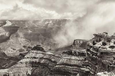 Photograph - Grand Canyon Sepia by Jonathan Nguyen
