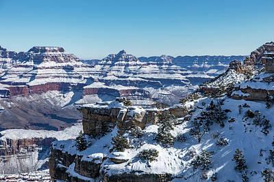 Grand Canyon Snow Art Print