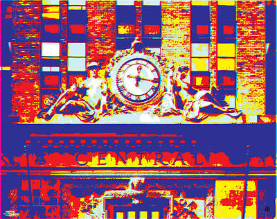 Digital Art - Grand Central by Gary Grayson