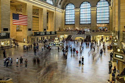 Photograph - Grand Central Motion by Ian Robert Knight