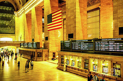 Photograph - Grand Central Station by Miles Whittingham