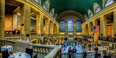 Photograph - Grand Central Terminal  by Nick Zelinsky