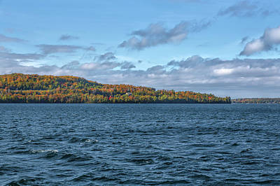 Photograph - Grand Island Lake Superior by John M Bailey