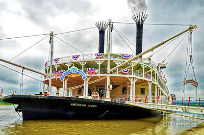Photograph - Grand Old Riverboats by Mel Steinhauer
