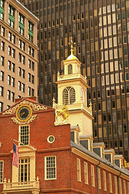 Photograph - Grand Old State House by Paul Mangold