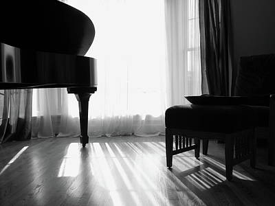 Photograph - Grand Piano by Wildcatmad