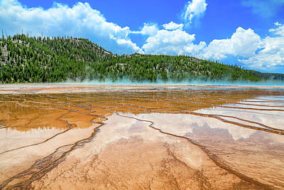 Photograph - Grand Prismatic Magic by Dan Sproul