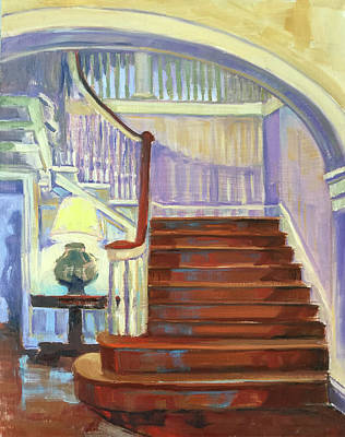 Painting - Grand Staircase by Pamela Wilde